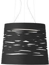 Tress Pendant by Foscarini Black