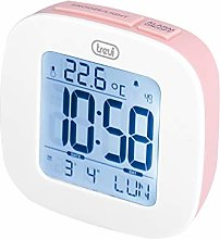 Trevi 0SL386008 Digital Alarm Clock Pink (Digital
