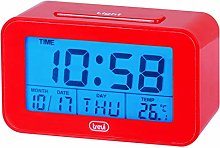 Trevi Alarm Clock One size red