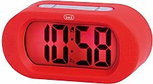 Trevi Alarm Clock, Red, 14x6.8x5 cm