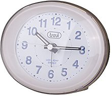 Trevi - Compact Bedside Quartz Alarm Clock with