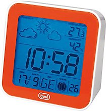 Trevi Digital Alarm Clock with Weather Station,