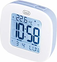Trevi Digital Clock, Blue, 7 X 3 X 8 Cm