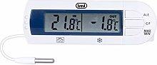 Trevi Digital Fridge Thermometer, White, Unique