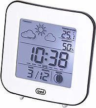 Trevi Digital Weather Station with Alarm Clock,