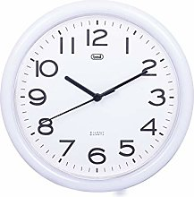 Trevi OM 3301 Quartz Wall Clock with Silent Sweep