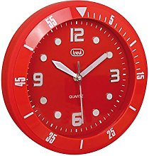 Trevi OM 3507 S Wall Clock 29 x 29 x 6 cm red