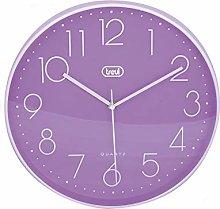 Trevi OM 3508 S Wall Clock, 30 cm 30 cm purple