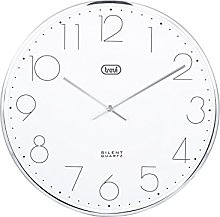 Trevi OM 3512 S Curved Glass Quartz Wall Clock