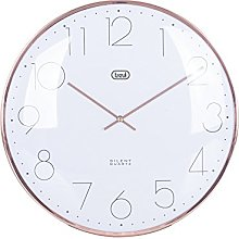 Trevi OM 3512 S Wall Clock 31 x 31 x 6 cm gold