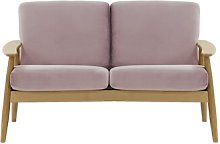 Treyton 2 Seater Loveseat Isabelline Upholstery