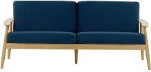 Treyton 3 Seater Sofa Isabelline Upholstery