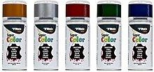 TRG Leather Shoe Dye Spray 150 ml (Silver)
