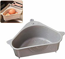 Triangular Basket Kitchen Sink Colander Strainer