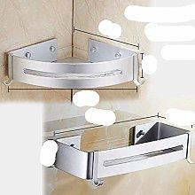 Triangular/Rectangular Shower Shelf Caddy Wall