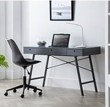 Trianon Grey Wooden Desk
