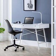 Trianon White Wooden Desk