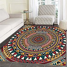 Tribal Area Rug Carpet African Folkloric Tribe