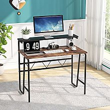 Tribesigns Computer Desk, simple Desk with monitor