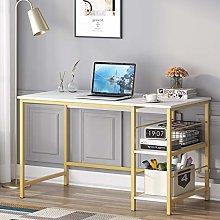 Tribesigns Computer Desk with 2-Tier Storage