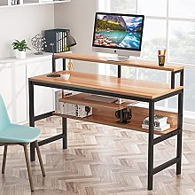 Tribesigns Computer Desk with Keyboard Tray and