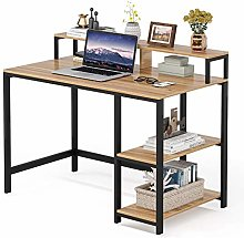 Tribesigns Computer Desk with Monitor Stand,