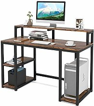 Tribesigns Computer Desk with Storage Shelves,