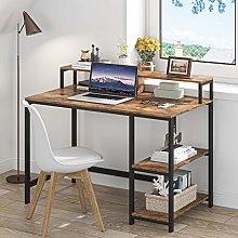 Tribesigns desk,computer desk with Shelves,Laptop