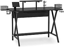 Tribesigns Gaming Desk with Monitor Stand and