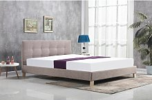 Tricia Upholstered Bed Frame Zipcode Design