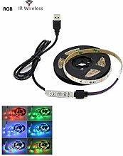 Trihedral-X DC 5V USB 2835 LED RGB Strip lamp RGB