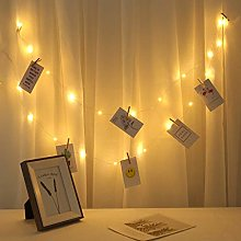 TriLance Photo Clip LED String With Clips For