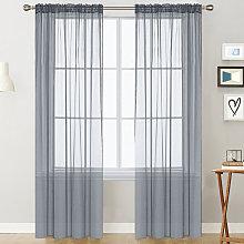Trilon curtain, 100W*130L gray two pieces