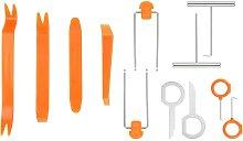 Trim disassembly tools, auto door trim tool kit