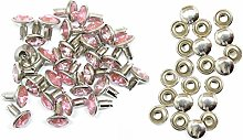 Trimming Shop 10mm Diamante Rivet Studs for DIY