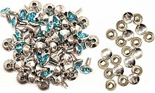 Trimming Shop 10mm Diamante Rivet Studs for DIY