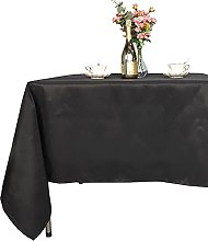 Trimming Shop Black Rectangular Cotton-Polyester