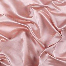 Trimming Shop Blush Pink Ice Silk Smooth Fabric