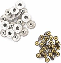 Trimming Shop Brass Jeans Button, Durable Tack