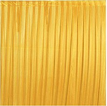 Trimming Shop Gold Silk Pleated Backdrops Curtain