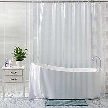 Trimming Shop PEVA Shower Curtains Transparent