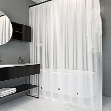 Trimming Shop PEVA Shower Curtains with Bottom