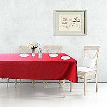 Trimming Shop Rectangle Christmas Tablecloth Spun