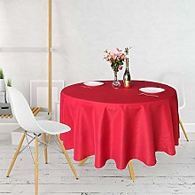 Trimming Shop Round Tablecloth Polyester Circular
