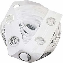 Trimming Shop® White Curtain Tape Heading for