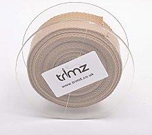 Trimz Webbing, Beige, 5m x 30mm