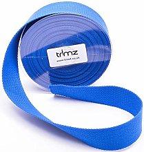 Trimz Webbing, Blue, 5Mtrs x 40mm