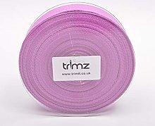 Trimz Webbing, Cotton, Lilac, 10m x 30mm