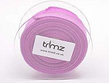 Trimz Webbing, Cotton, Lilac, 5m x 40mm