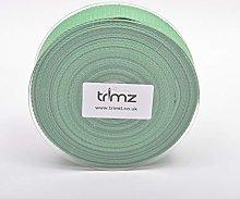 Trimz Webbing, Cotton, Moss, 10m x 40mm
